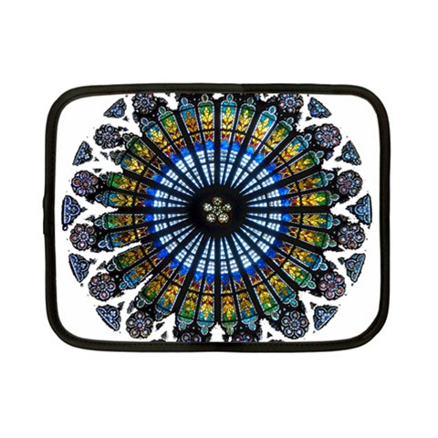 Rose Window Strasbourg Cathedral Netbook Case (Small)