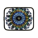 Rose Window Strasbourg Cathedral Netbook Case (Small)  Front