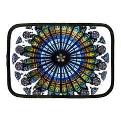 Rose Window Strasbourg Cathedral Netbook Case (Medium)