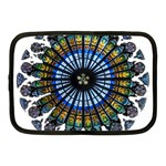 Rose Window Strasbourg Cathedral Netbook Case (Medium)  Front