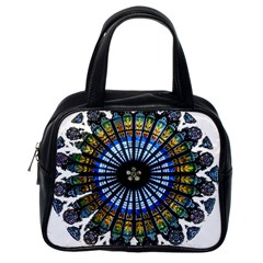 Rose Window Strasbourg Cathedral Classic Handbags (One Side)