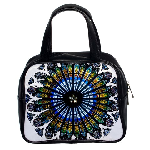 Rose Window Strasbourg Cathedral Classic Handbags (2 Sides)