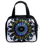Rose Window Strasbourg Cathedral Classic Handbags (2 Sides) Front