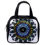 Rose Window Strasbourg Cathedral Classic Handbags (2 Sides) Back