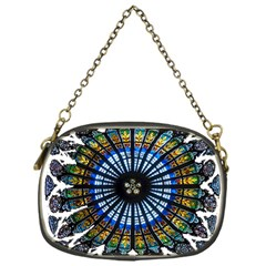 Rose Window Strasbourg Cathedral Chain Purses (One Side)