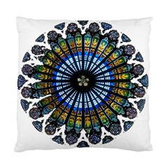 Rose Window Strasbourg Cathedral Standard Cushion Case (One Side)