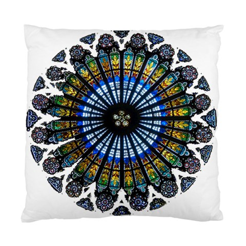 Rose Window Strasbourg Cathedral Standard Cushion Case (Two Sides)