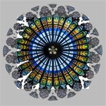 Rose Window Strasbourg Cathedral Mini Canvas 4  x 4  4  x 4  x 0.875  Stretched Canvas