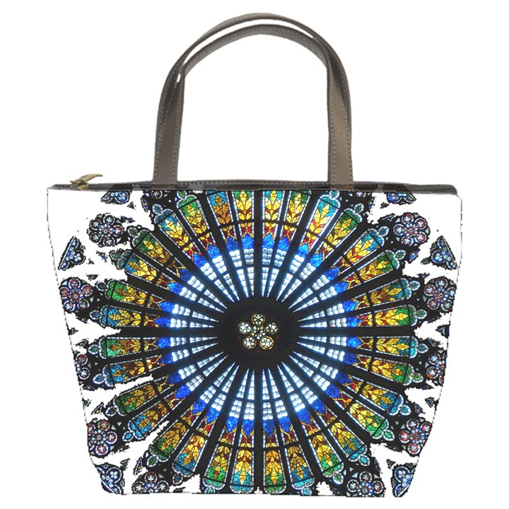 Rose Window Strasbourg Cathedral Bucket Bags
