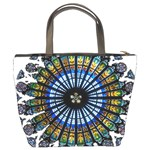 Rose Window Strasbourg Cathedral Bucket Bags Back