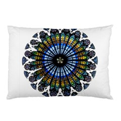 Rose Window Strasbourg Cathedral Pillow Case