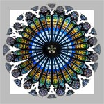 Rose Window Strasbourg Cathedral Mini Canvas 8  x 8  8  x 8  x 0.875  Stretched Canvas