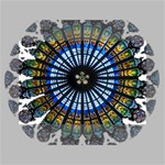 Rose Window Strasbourg Cathedral Mini Canvas 6  x 4  6  x 4  x 0.875  Stretched Canvas