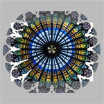 Rose Window Strasbourg Cathedral Mini Canvas 7  x 5  7  x 5  x 0.875  Stretched Canvas