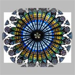 Rose Window Strasbourg Cathedral Canvas 16  x 12  16  x 12  x 0.875  Stretched Canvas