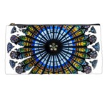 Rose Window Strasbourg Cathedral Pencil Cases Front