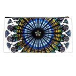 Rose Window Strasbourg Cathedral Pencil Cases Back