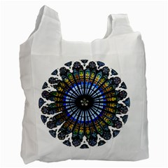 Rose Window Strasbourg Cathedral Recycle Bag (One Side)