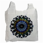 Rose Window Strasbourg Cathedral Recycle Bag (Two Side)  Front
