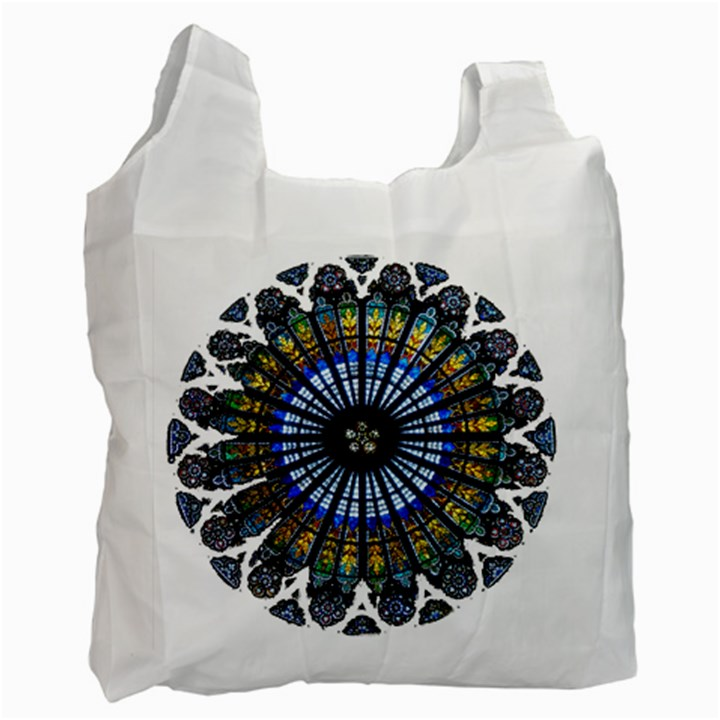 Rose Window Strasbourg Cathedral Recycle Bag (Two Side)