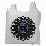 Rose Window Strasbourg Cathedral Recycle Bag (Two Side)  Back