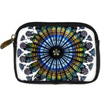 Rose Window Strasbourg Cathedral Digital Camera Cases Front