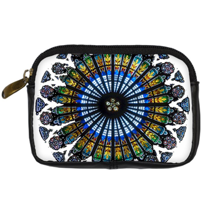 Rose Window Strasbourg Cathedral Digital Camera Cases