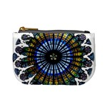 Rose Window Strasbourg Cathedral Mini Coin Purses Front