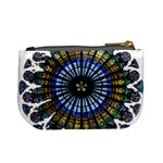 Rose Window Strasbourg Cathedral Mini Coin Purses Back