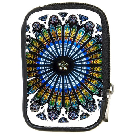 Rose Window Strasbourg Cathedral Compact Camera Cases