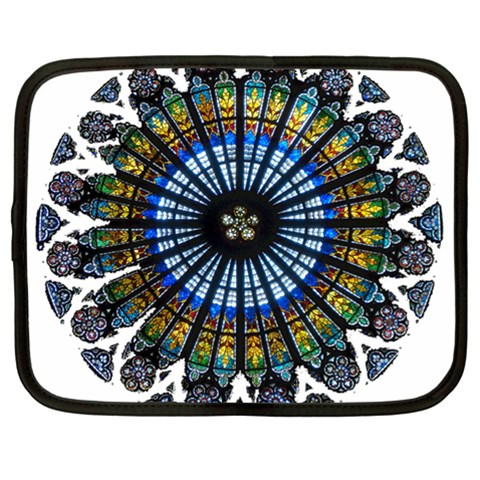 Rose Window Strasbourg Cathedral Netbook Case (XL)