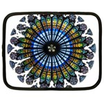 Rose Window Strasbourg Cathedral Netbook Case (XL)  Front