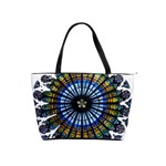 Rose Window Strasbourg Cathedral Shoulder Handbags Front