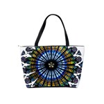 Rose Window Strasbourg Cathedral Shoulder Handbags Back