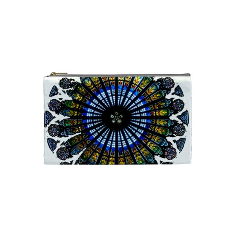 Rose Window Strasbourg Cathedral Cosmetic Bag (Small)