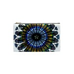 Rose Window Strasbourg Cathedral Cosmetic Bag (Small)  Front