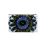 Rose Window Strasbourg Cathedral Cosmetic Bag (Small)  Back