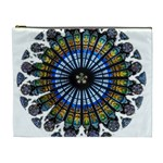 Rose Window Strasbourg Cathedral Cosmetic Bag (XL) Front