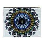 Rose Window Strasbourg Cathedral Cosmetic Bag (XL) Back