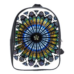 Rose Window Strasbourg Cathedral School Bags(Large)