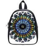 Rose Window Strasbourg Cathedral School Bags (Small)  Front