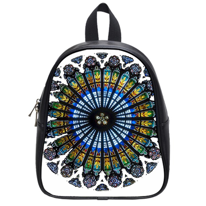 Rose Window Strasbourg Cathedral School Bags (Small)