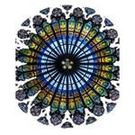 Rose Window Strasbourg Cathedral Large Memo Pads 4.125 x5.5  Memopad
