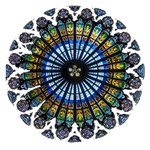 Rose Window Strasbourg Cathedral Small Memo Pads 3.75 x3.75  Memopad