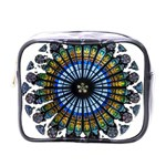 Rose Window Strasbourg Cathedral Mini Toiletries Bags Front