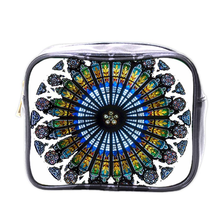 Rose Window Strasbourg Cathedral Mini Toiletries Bags