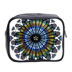 Rose Window Strasbourg Cathedral Mini Toiletries Bag 2-Side Back