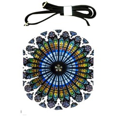 Rose Window Strasbourg Cathedral Shoulder Sling Bags