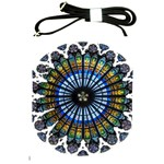 Rose Window Strasbourg Cathedral Shoulder Sling Bags Front