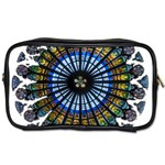 Rose Window Strasbourg Cathedral Toiletries Bags Front